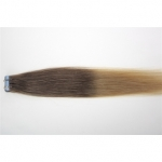 "20"" 50g Tape Human Hair Extensions #06/20 Ombre"