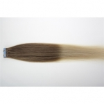 "16"" 30g Tape Human Hair Extensions #12/613 Ombre"