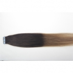 "20"" 50g Tape Human Hair Extensions #02/12 Ombre"