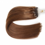 "100S 16"" Micro rings/loop hair 1g/s human hair extensions #04 Double Beads"
