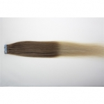 "20"" 50g Tape Human Hair Extensions #12/613 Ombre"