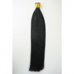 "100S 16"" Stick tip hair 1g/s human hair extensions #01 Double Drawn"