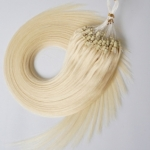 "100S 18"" Micro rings/loop hair 1g/s human hair extensions #60 Double Beads"