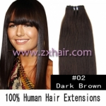 "20"" remy Human Hair Weft/Extensions 50"" Wide #02"