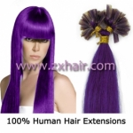 "100S 22"" Nail tip hair remy Human Hair Extensions #lila"