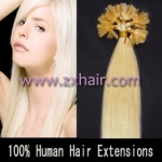"100S 16"" Nail tip hair remy Human Hair Extensions #60"