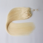 "100S 16"" Micro rings/loop hair 1g/s human hair extensions #60 Double Beads"
