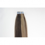 "18"" 40g Tape Human Hair Extensions #4/27 Mixed"