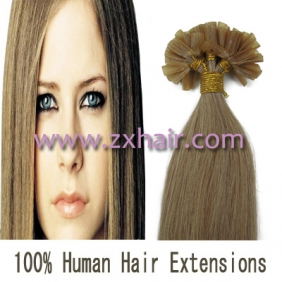"100S 18"" Nail tip hair remy Human Hair Extensions #16"