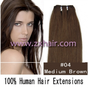 "20"" remy Human Hair Weft/Extensions 50"" Wide #04"