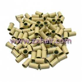 1000pc Copper Tubes Link Rings for Hair Extensions #613