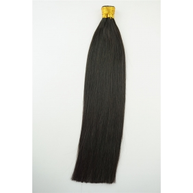 "100S 16"" Stick tip hair 1g/s human hair extensions #1B Double Drawn"