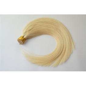 "100S 18"" Stick tip hair 1g/s human hair extensions #60 Double Drawn"