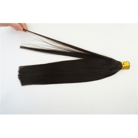 "100S 20"" Stick tip hair 1g/s human hair extensions #1B Double Drawn"