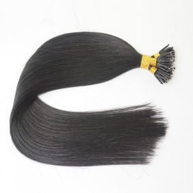 "100S 20"" Nano hair 1g/s human hair extensions #01 Double Drawn"
